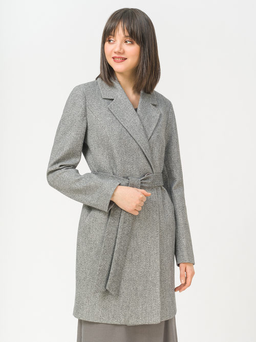 Текстильное пальто артикул 14809287/44 - фото 2