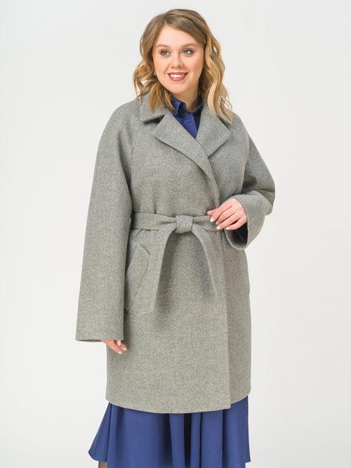 Текстильное пальто артикул 14809289/54 - фото 2
