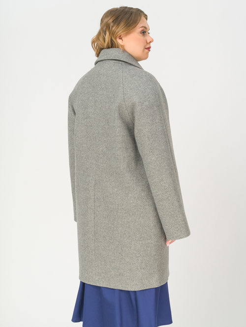 Текстильное пальто артикул 14809289/54 - фото 3