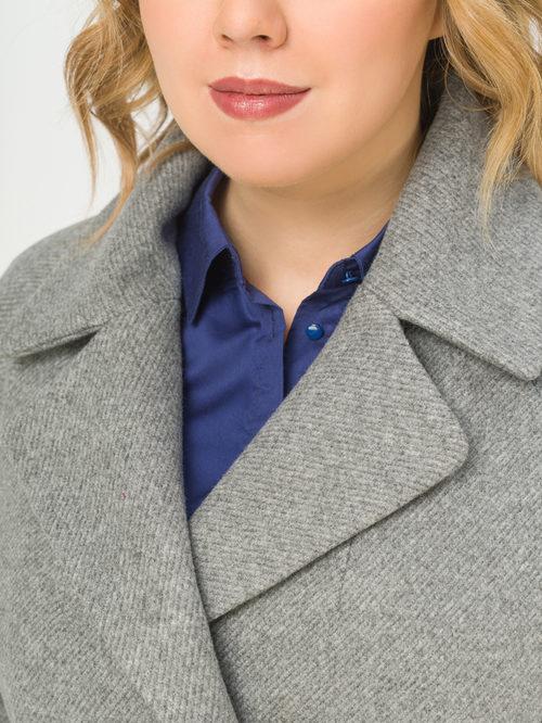 Текстильное пальто артикул 14809289/54 - фото 4