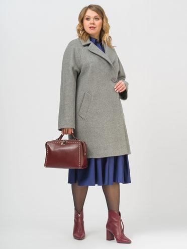 Текстильное пальто , цвет серый, арт. 14809289  - цена 5890 руб.  - магазин TOTOGROUP