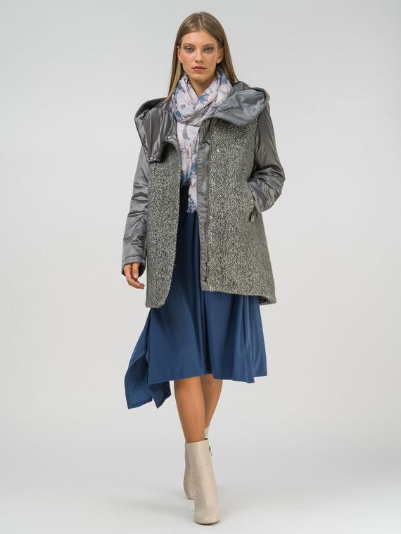 Текстильное пальто 100% полиэстер, цвет серый, арт. 14809891  - цена 3990 руб.  - магазин TOTOGROUP