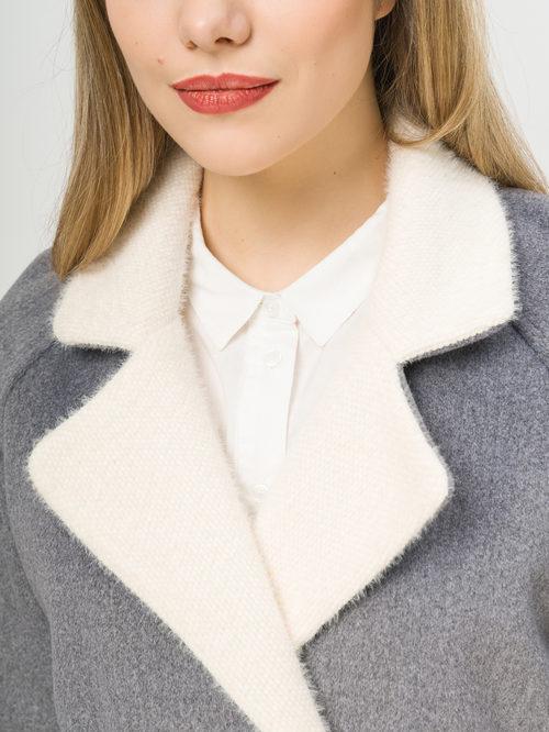 Текстильное пальто артикул 14809965/44 - фото 4