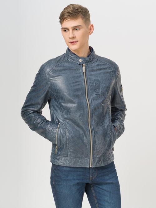 Кожаная куртка артикул 14809989/48 - фото 2