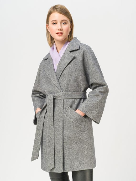 Текстильная куртка 35% шерсть, 65% полиэстер, цвет серый, арт. 14810084  - цена 4990 руб.  - магазин TOTOGROUP