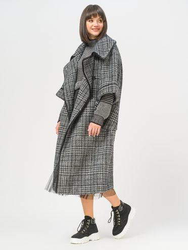 Текстильное пальто 100% полиэстер, цвет серый, арт. 14810136  - цена 8990 руб.  - магазин TOTOGROUP
