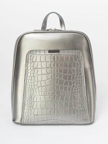 Сумка кожа теленок, цвет серый, арт. 14810161  - цена 4990 руб.  - магазин TOTOGROUP