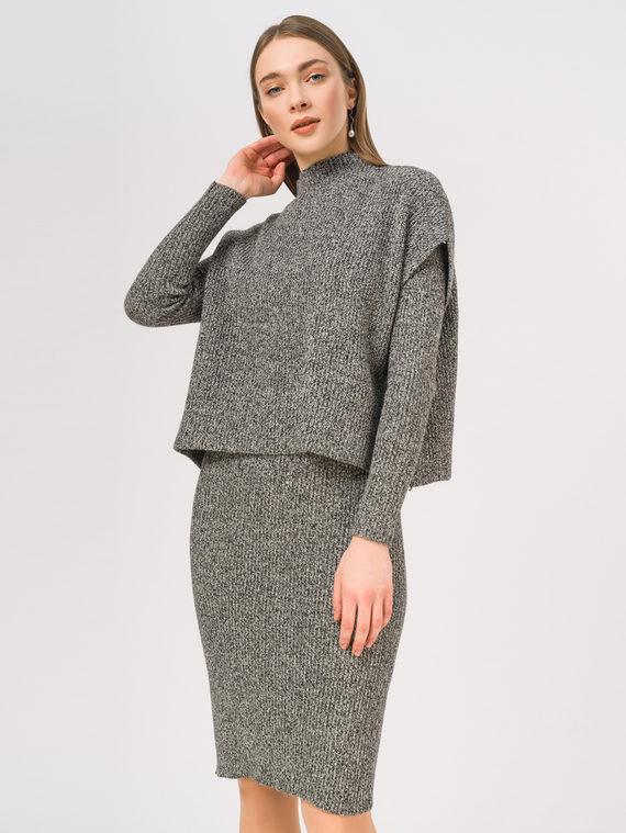 Платье 50% вискоза, 28% полиэстер, 22% нейлон, цвет серый, арт. 14810344  - цена 2060 руб.  - магазин TOTOGROUP