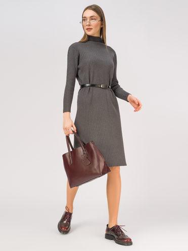 Платье 65%вискоза,35%нейлон, цвет серый, арт. 14810358  - цена 1410 руб.  - магазин TOTOGROUP