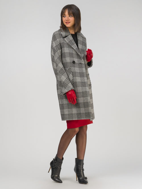 Текстильное пальто артикул 14810651/42 - фото 2
