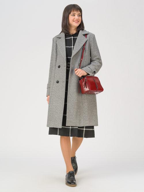 Текстильное пальто артикул 14810727/40 - фото 2