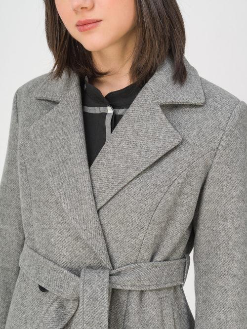 Текстильное пальто артикул 14810727/40 - фото 3