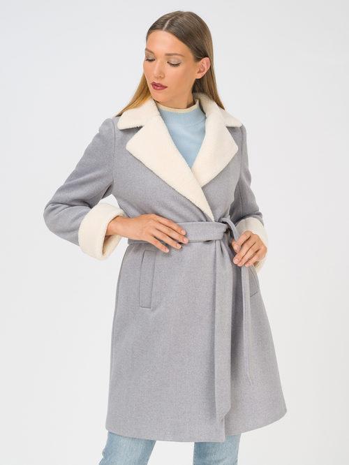 Текстильное пальто артикул 14810741/44 - фото 2