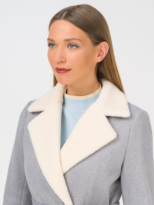 Текстильное пальто артикул 14810741/44 - фото 3