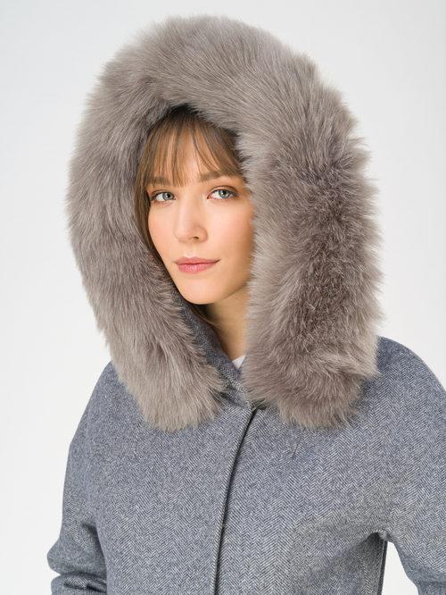 Текстильное пальто артикул 14810873/42 - фото 3