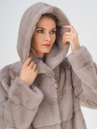 Шуба мех норка крашен., цвет серый, арт. 14811120  - цена 67990 руб.  - магазин TOTOGROUP