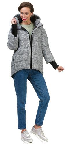 Пуховик текстиль, цвет серый, арт. 14900628  - цена 7490 руб.  - магазин TOTOGROUP