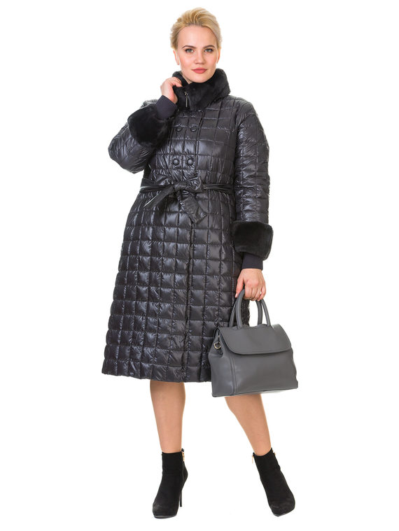 Пуховик текстиль, цвет серый, арт. 14900686  - цена 9490 руб.  - магазин TOTOGROUP