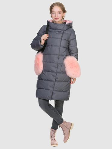 Пуховик текстиль, цвет серый, арт. 14900879  - цена 3990 руб.  - магазин TOTOGROUP