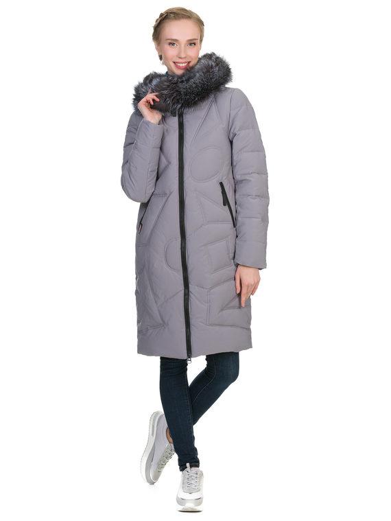 Пуховик текстиль, цвет серый, арт. 14900949  - цена 6630 руб.  - магазин TOTOGROUP