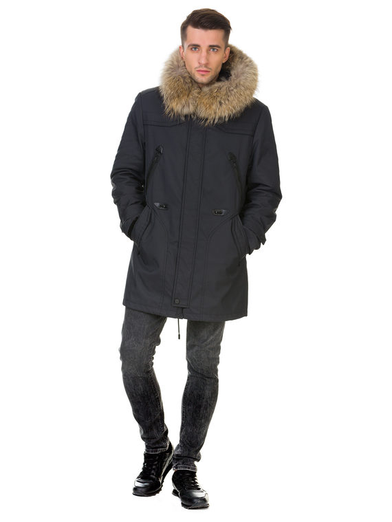Пуховик текстиль, цвет серый, арт. 14900986  - цена 13390 руб.  - магазин TOTOGROUP