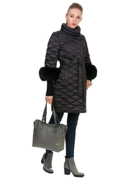 Пуховик текстиль, цвет серый, арт. 14901065  - цена 13390 руб.  - магазин TOTOGROUP