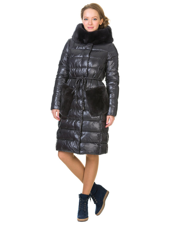 Пуховик текстиль, цвет серый, арт. 14901070  - цена 8490 руб.  - магазин TOTOGROUP