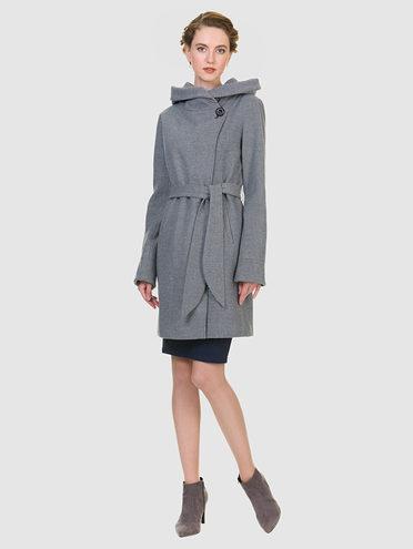 Текстильное пальто 30%шерсть, 70% п\а, цвет серый, арт. 14901144  - цена 4490 руб.  - магазин TOTOGROUP