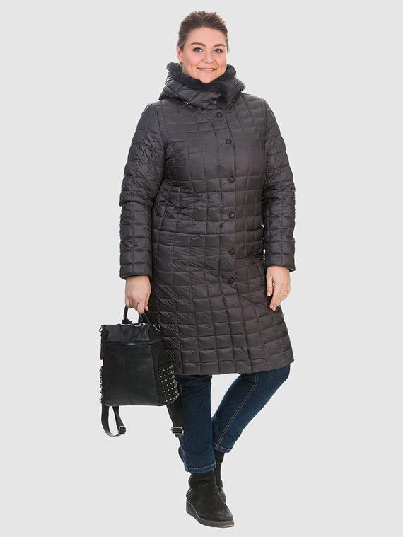 Пуховик текстиль, цвет серый, арт. 14902665  - цена 6990 руб.  - магазин TOTOGROUP