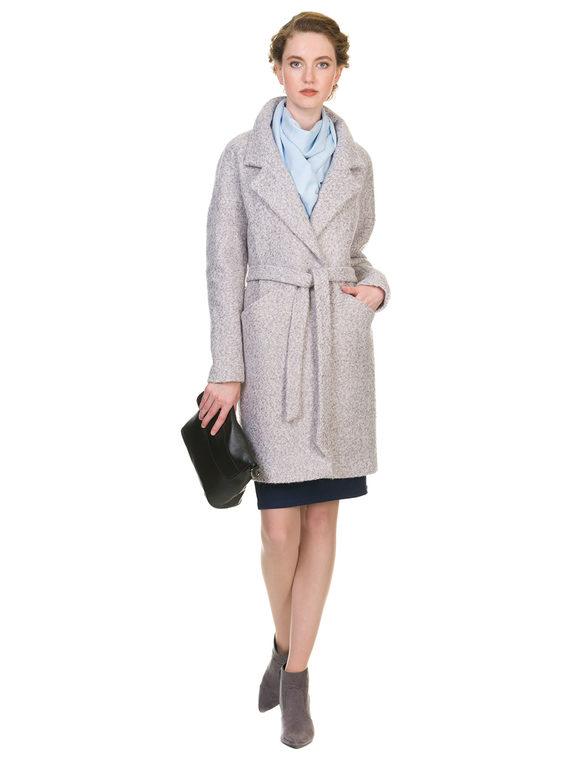 Текстильное пальто 30%шерсть, 70% п\а, цвет серый, арт. 14902905  - цена 3590 руб.  - магазин TOTOGROUP