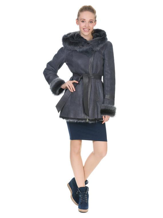 Дубленка дуб. овчина, цвет серый, арт. 14903515  - цена 19990 руб.  - магазин TOTOGROUP