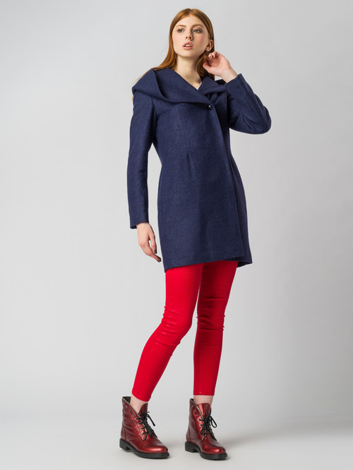 Текстильное пальто артикул 15005651/42 - фото 2