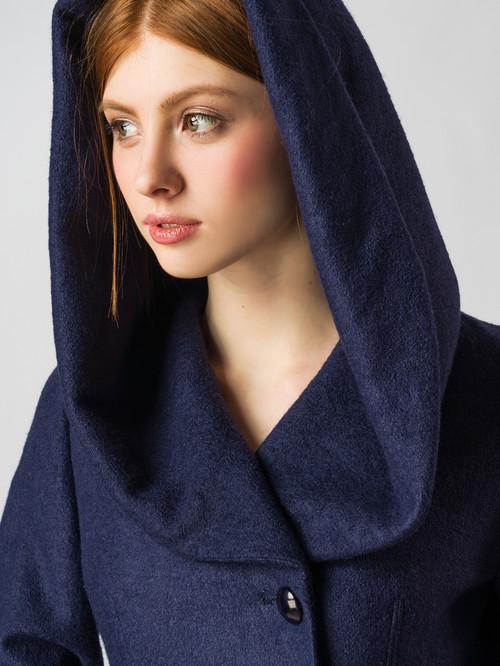 Текстильное пальто артикул 15005651/42 - фото 4