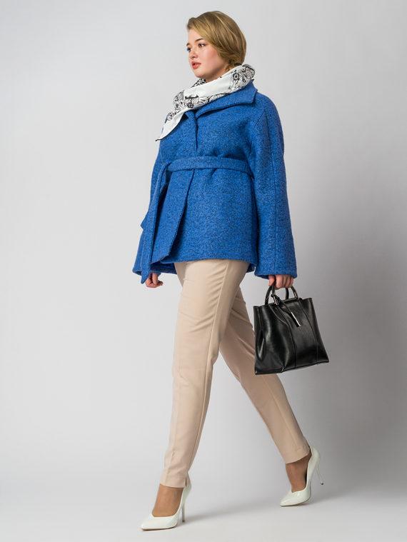 Текстильная куртка 50%шерсть, 50% п/а, цвет синий, арт. 15005652  - цена 4990 руб.  - магазин TOTOGROUP