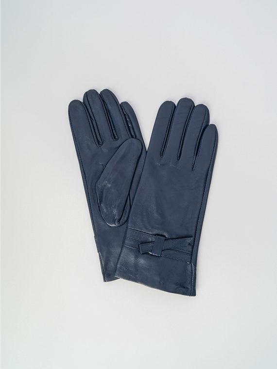Перчатки кожа , цвет синий, арт. 15006091  - цена 1410 руб.  - магазин TOTOGROUP