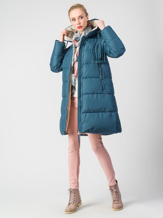 Пуховик текстиль, цвет бирюзовый, арт. 15006200  - цена 9490 руб.  - магазин TOTOGROUP