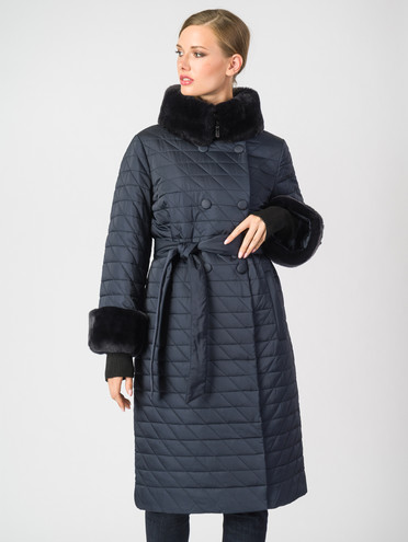 Пуховик текстиль, цвет синий, арт. 15006348  - цена 28490 руб.  - магазин TOTOGROUP