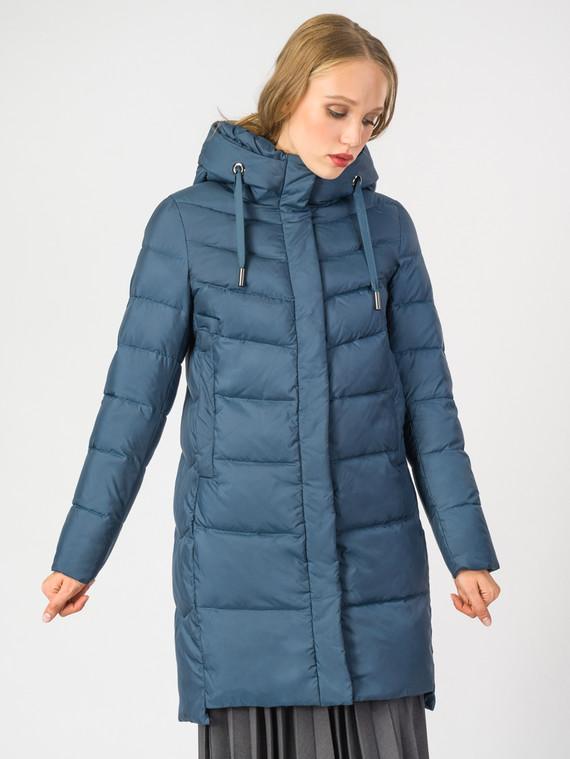Пуховик текстиль, цвет синий, арт. 15006518  - цена 5890 руб.  - магазин TOTOGROUP