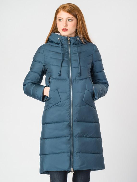Пуховик текстиль, цвет синий, арт. 15006523  - цена 5890 руб.  - магазин TOTOGROUP