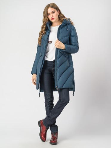Пуховик текстиль, цвет синий, арт. 15006526  - цена 9490 руб.  - магазин TOTOGROUP