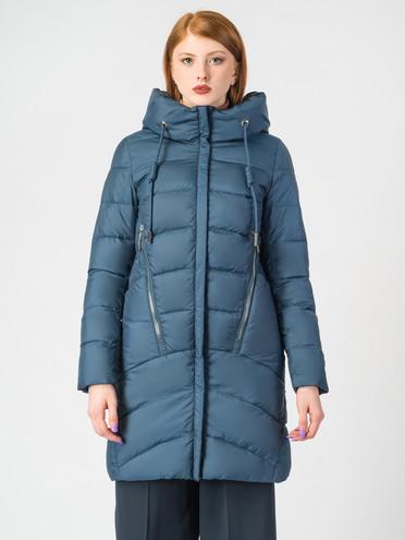 Пуховик текстиль, цвет синий, арт. 15006528  - цена 9490 руб.  - магазин TOTOGROUP