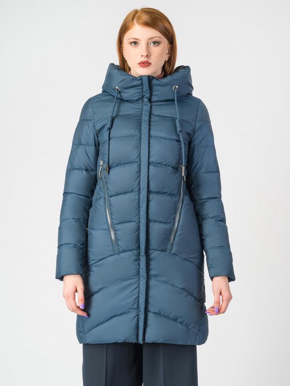 Пуховик текстиль, цвет синий, арт. 15006528  - цена 5590 руб.  - магазин TOTOGROUP