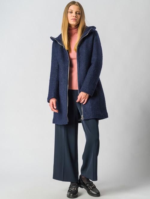 Текстильное пальто артикул 15006604/42 - фото 2