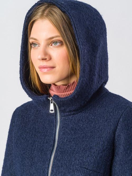 Текстильное пальто артикул 15006604/42 - фото 4