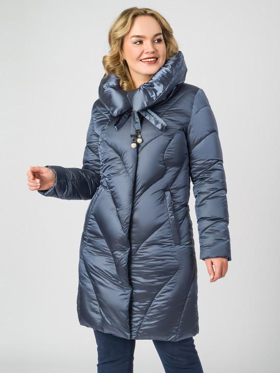 Пуховик текстиль, цвет синий, арт. 15006616  - цена 5290 руб.  - магазин TOTOGROUP