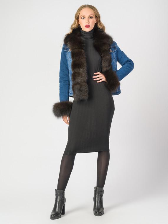 Текстильная куртка текстиль, цвет синий, арт. 15006675  - цена 12690 руб.  - магазин TOTOGROUP