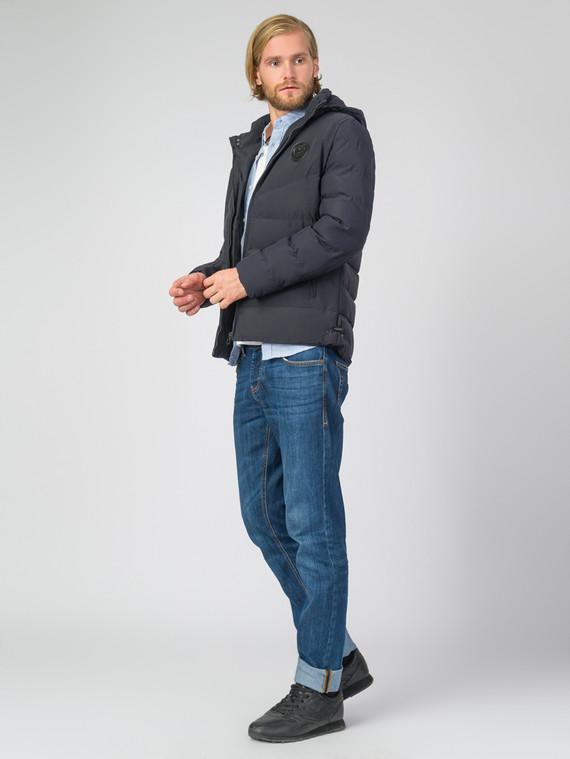 Пуховик текстиль, цвет синий, арт. 15006693  - цена 3390 руб.  - магазин TOTOGROUP