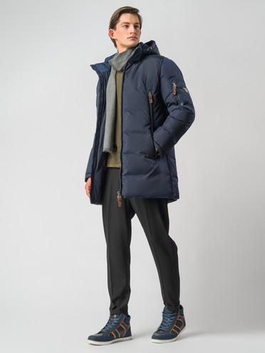 Пуховик текстиль, цвет синий, арт. 15006738  - цена 7990 руб.  - магазин TOTOGROUP