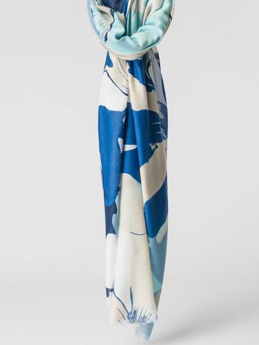 Шарф 100% вискоза, цвет синий, арт. 15007155  - цена 1070 руб.  - магазин TOTOGROUP
