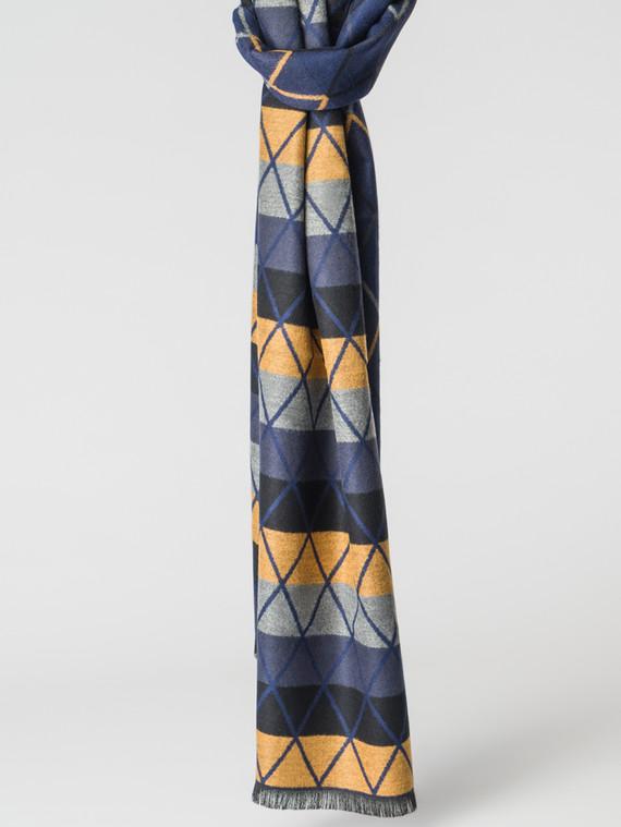 Шарф 100% кашемир, цвет синий, арт. 15007165  - цена 1130 руб.  - магазин TOTOGROUP